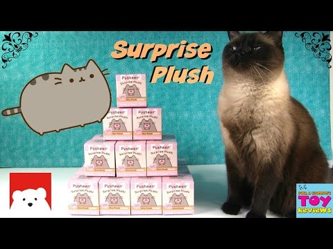 Pusheen Snack Time Blind Bag Surprise Plush Full Case Unboxing | Gund Toy Review | PSToyReviews