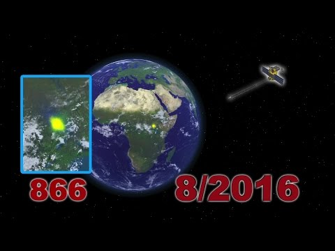Mysterious flashes of light spotted on Earth by NASA camera finally explained
