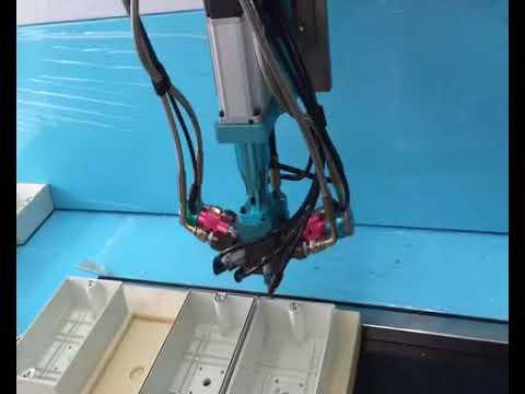 Waterproof box automatic sealing foam gasket machine