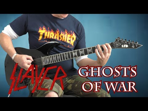 Slayer - Ghosts Of War - guitar cover with solo