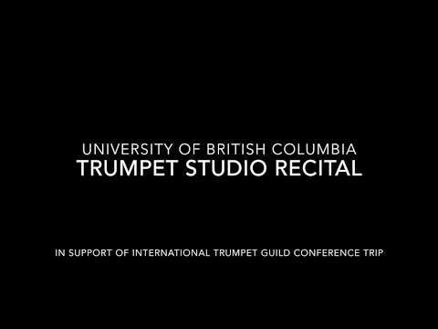 UBC Trumpet Studio Recital