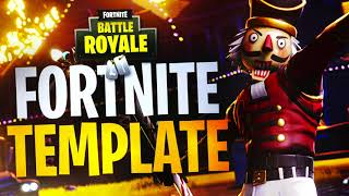 "NEW ""CRACKSHOT"" FORTNITE THUMBNAIL TEMPLATE DOWNLOAD! - (Fortnite Thumbnail Template FREE PSD)"