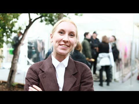 SHOWstudio: Satu Maaranen Interview - Hyères Festival 2013