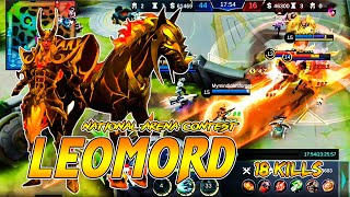 Leomord Inferno Soul | Indonesia - Korea | National Arena Contest MLBB