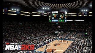 NBA 2K9 : New Jersey Nets vs. New York Knicks  | 4K @ 60fps | PC Gameplay