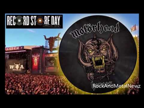"Motorhead to release collector picture disc of Heroes 7"" on Record Store Day April 21st!"