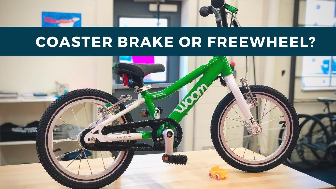 556747666a6 Coaster Brake or Freewheel on the Woom 2 Kid's Bike? - YouTube