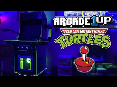 Arcade1up TMNT modded cab (First ever) from Kevin Cruz