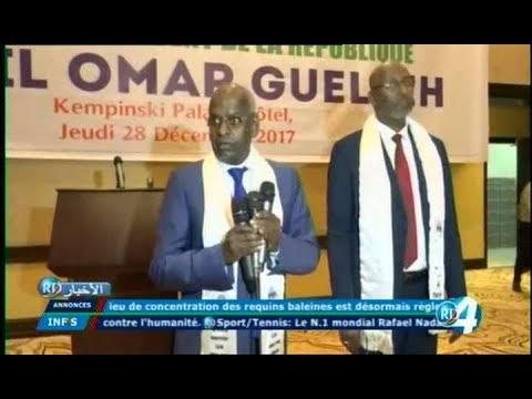 Télé Djibouti Chaine Youtube : JT Francais du 28/12/2017