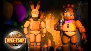 FREDDY FAZBEAR'S DINER BIRTHDAY PARTY SHOW (FOUND FOOTAGE!!!) - real or fake?