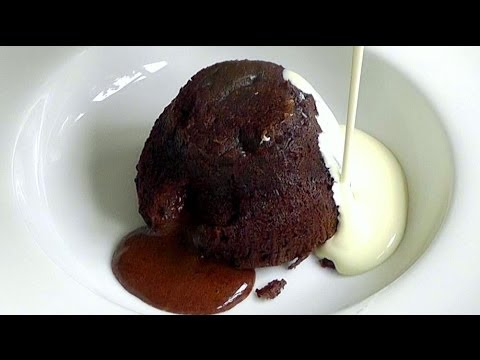 Melting Chocolate Puddings How to Make Delicious Valentines Recipe