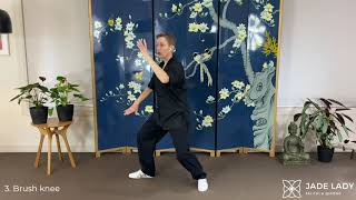 Tai Chi 10-Form Double in Mirror Image