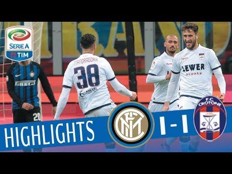 Inter - Crotone 1-1 - Highlights - Giornata 23 - Serie A TIM 2017/18