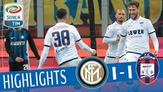 Inter - Crotone 1-1 - Highlights - Giornata 23 - Serie A TIM 2017/18