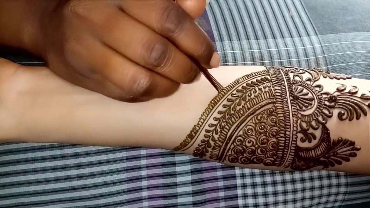 Full Hand Dulhan Mehndi Designs Indo Arabic Full Hand