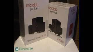 Microlab M-108U vs Microlab M-109 (opis - review)