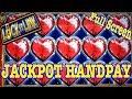 ❤ LOCK IT LINK JACKPOT HANDPAY ❤ FULL SCREEN ★ $10-$20 BETS ★ 5 HEART TRIGGER ★