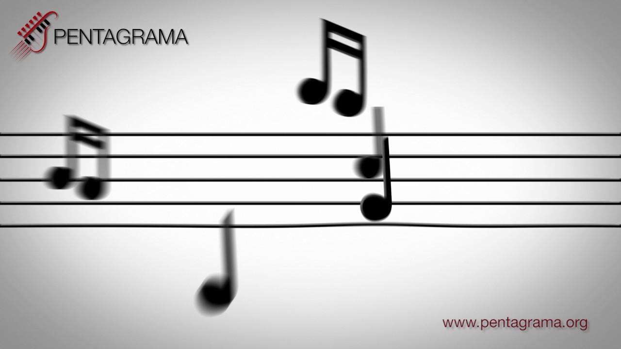 Pentagrama Notas Musicales Youtube