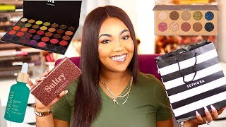 Huge Makeup Haul 2018 | Sephora , Ulta, Morphe , & More !!!