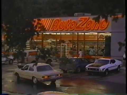 1996 Autozone Auto PArts Store TV Commercial