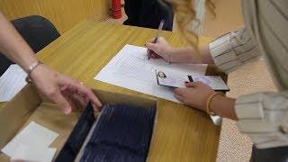 Вручение студенческих билетов ВШ ЭКН