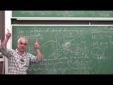 Gauss, normals and fundamental forms | Differential Geometry 34 | NJ Wildberger