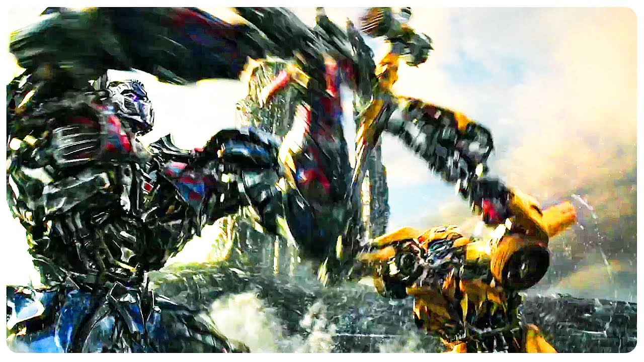 transformers 5 optimus prime vs bumblebee trailer 2017 transformers the last knight movie. Black Bedroom Furniture Sets. Home Design Ideas