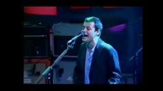 Manic Street Preachers - Motorcycle Emptiness ( Jonathan Ross Show 2002 )