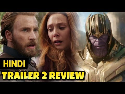 Avengers Infinity War Hindi Trailer 2 Review / Breakdown | Marvel India