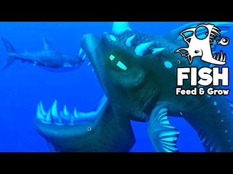 Feed and grow fish gameplay german monster vs great for Fish and grow