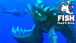 Feed and Grow Fish Gameplay German - Monster Vs. Great White Shark