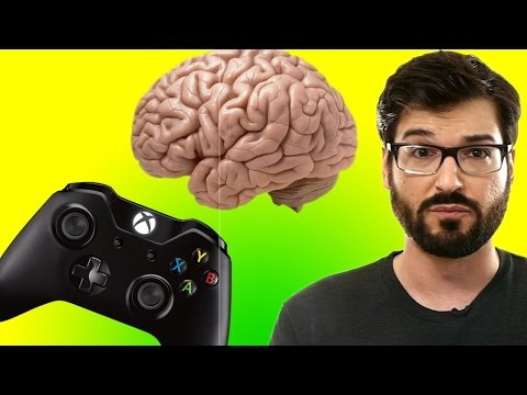You're terrible at games, but your brain doesn't know how to tell you