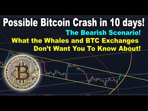 Crash in 10 days! The Bitcoin Bearish Scenario Whales & BTC Exchanges don't want you to know about!
