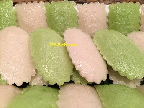 Bánh Bò - Vietnamese Steamed Rice Cake