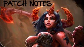 PATCH NOTES - NERF TO HEL/ZEUS/BELLONA/XING TIAN - Smite - Weak3n