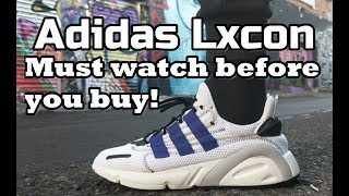 ADIDAS LXCON review - On feet, comfort