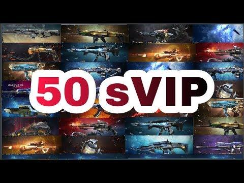 Điểm mặt 50 vũ khí sVIP của game Truy Kích