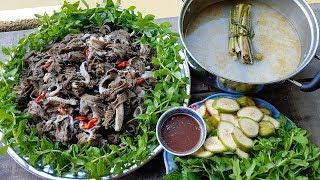 LÒNG BÒ NHÚNG MẺ | Món Ngon Mẹ Nấu