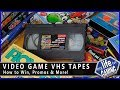 Video Game VHS Tapes - How to Win, Promos & More / MY LIFE IN GAMING