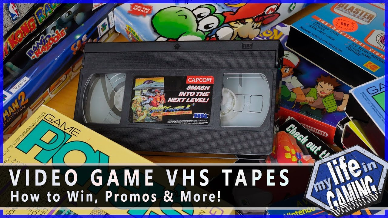 Video Game Vhs Tapes How To Win Promos More My Life In