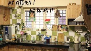 Our Honest Kitchen Tour / Sivakasi Samayal / Video-367