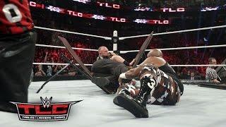 WWE Network: The Dudley Boyz, Tommy Dreamer & Rhyno vs. The Wyatt Family: WWE TLC 2015