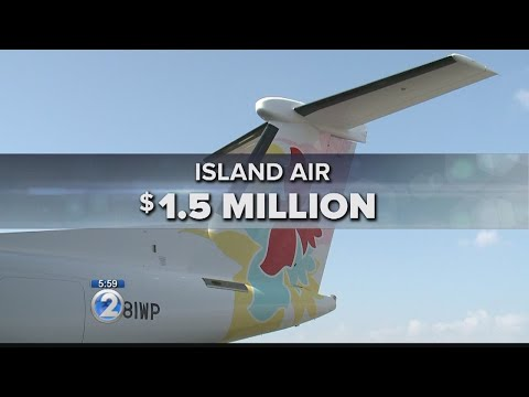 Island Air just one of several airport tenants that owe the state rent money