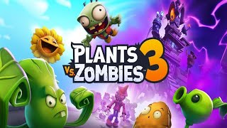 Plants vs. Zombies 3 - Gameplay Walkthrough Part 1 - New Plants! New Zombies! Devour Tower!