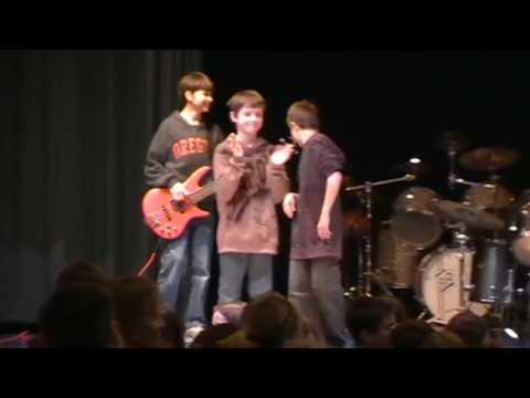 Rome Corners Intermediate School (RCI) Oregon WI Talent Show 2011