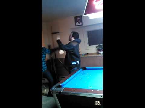 Bar Fight -  Drunk Metallica Fan Gets Beat Up By Crazy Blonde