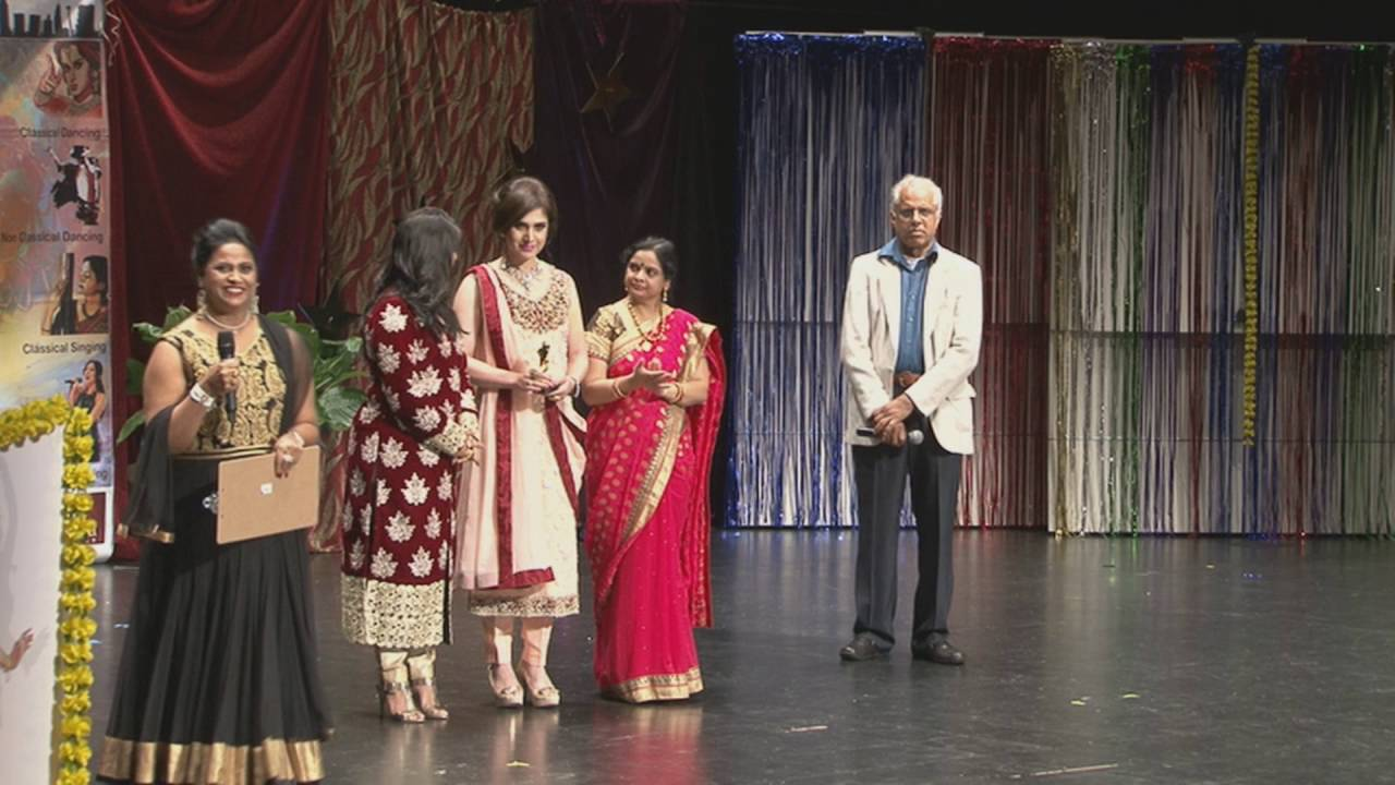 Presentation of 2nd Place by Meenakshi Seshadri - Dancing Solo
