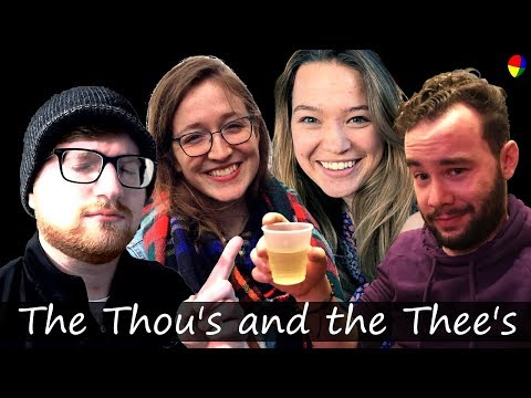 The Thou's and the Thee's