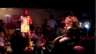 Keith Frank Band, El Sido`s Zydeco & Blues Club, Lafayette, 13.10.2012