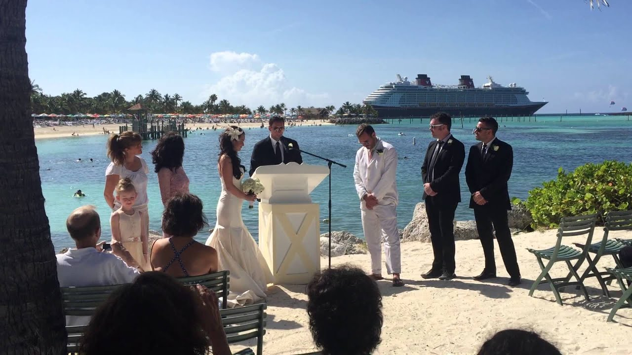 Ashley Nate S Castaway Cay Wedding 2